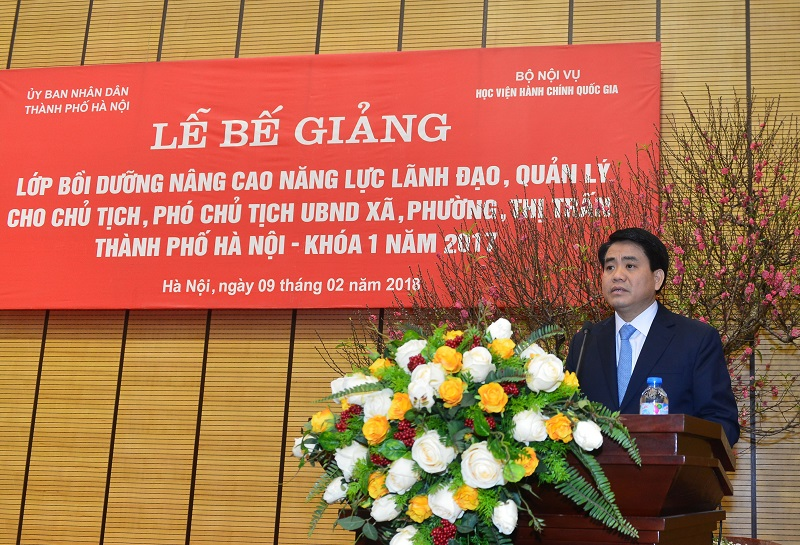 Hà Nội: Năm 2020, đội ngũ cán bộ lãnh đạo xã, phường được bồi dưỡng năng lực quản lý
