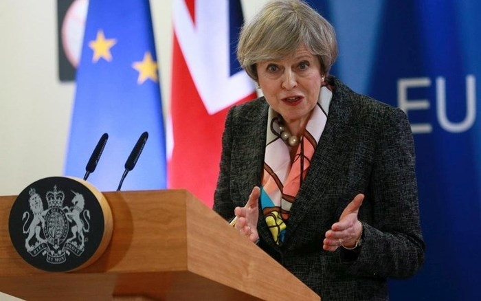 Thủ tướng Anh kêu gọi EU thúc đẩy thỏa thuận an ninh hậu Brexit