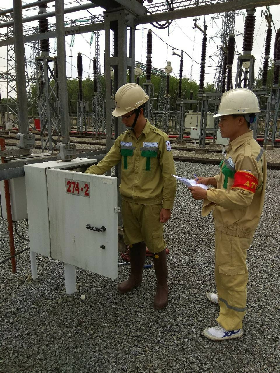 Đóng điện đường dây mạch kép 220 kV Sông Tranh 2 – Tam Kỳ