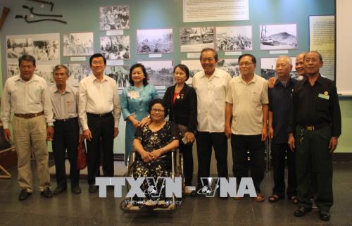 Phó Thủ tướng Trương Hòa Bình dự họp mặt chiến sĩ cách mạng Việt Nam bị địch bắt tù đày 