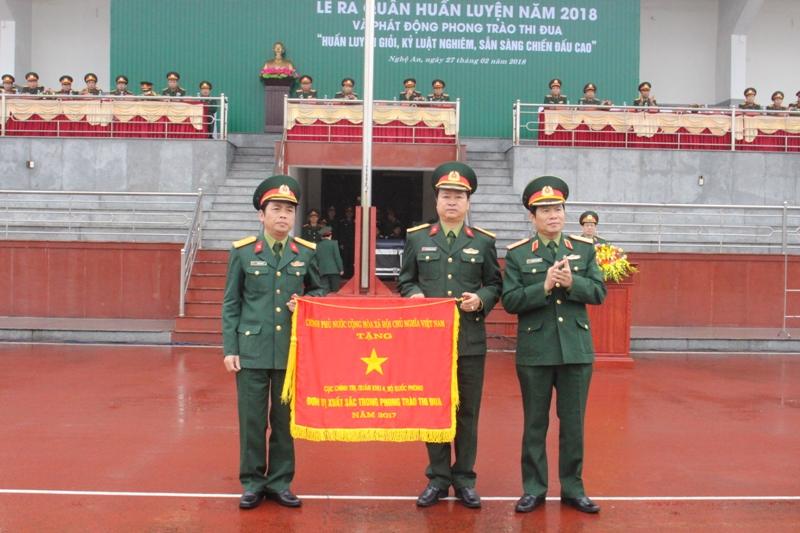 Quân khu 4 tổ chức Lễ ra quân huấn luyện năm 2018