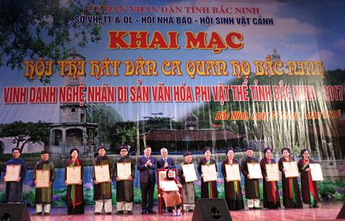 Bắc Ninh: Khai mạc Hội Xuân Mậu Tuất 2018  