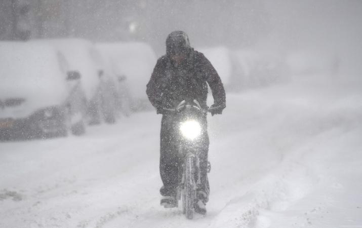 Bão tuyết lớn đổ bộ vào vùng Trung Tây nước Mỹ