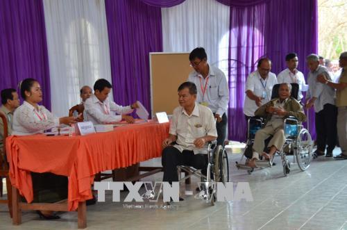 Đảng Nhân dân Campuchia giành thắng lợi tuyệt đối trong cuộc bầu cử Thượng viện khóa IV