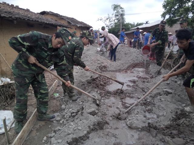 Dấu ấn những người lính mang quân hàm xanh trên hành trình xây dựng nông thôn mới