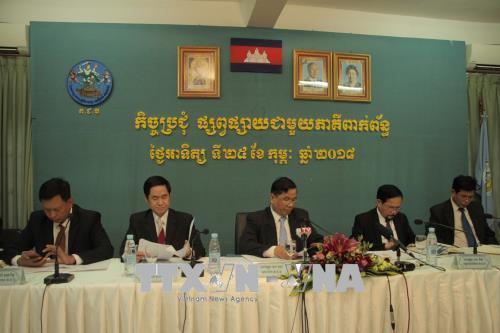 Bầu cử Thượng viện Campuchia: Hơn 99% cử tri đi bầu