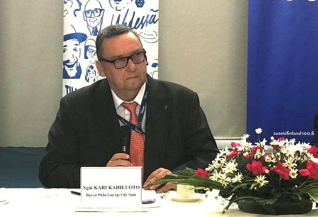 Tăng cường quan hệ hữu nghị và hợp tác Việt Nam - Phần Lan