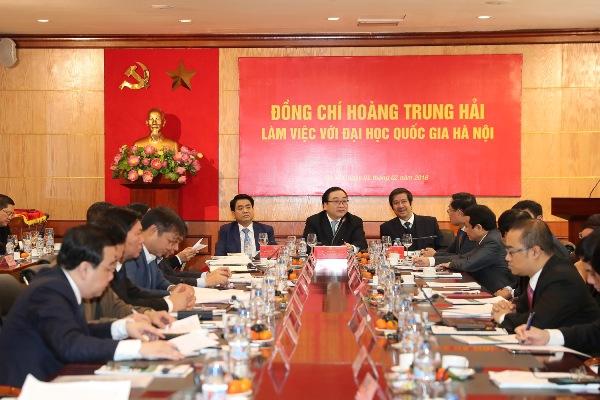 ĐHQGHN tăng cường tham gia giải quyết các vấn đề của Thủ đô