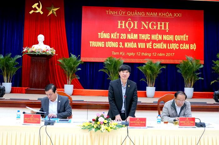 Quảng Nam xử lý kỷ luật tổ chức đảng và đảng viên vi phạm