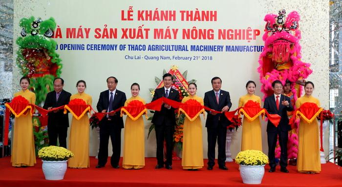 Khánh thành Nhà máy sản xuất máy nông nghiệp Thaco tại Quảng Nam