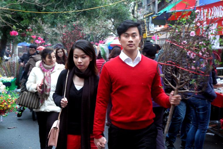 Chợ hoa ngày Tết – nét đẹp văn hóa Hà Nội