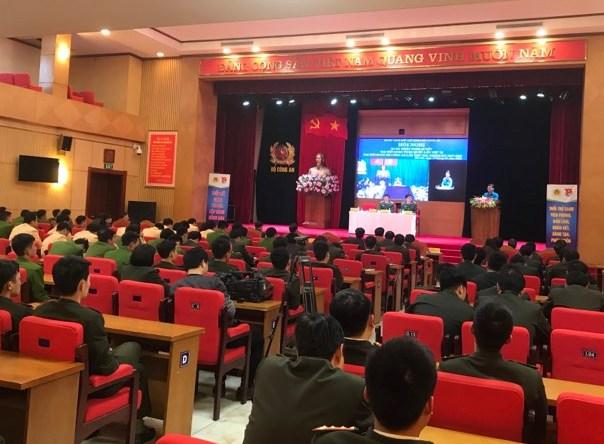 Đoàn Thanh niên Bộ Công an phát động Tháng Thanh niên năm 2018
