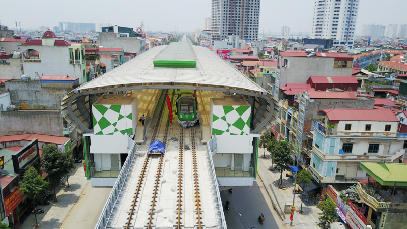 Lập phương án đầu tư các tuyến đường sắt đô thị Hà Nội