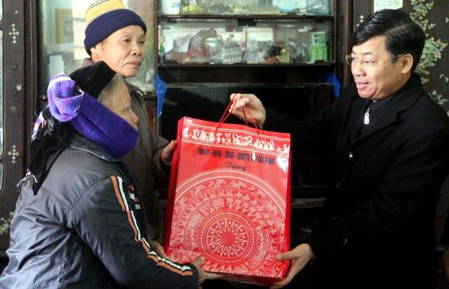 Bắc Giang, tặng trên 138 nghìn suất quà Tết Mậu Tuất năm 2018