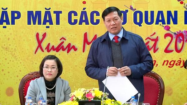 Hưng Yên gặp mặt các cơ quan báo chí