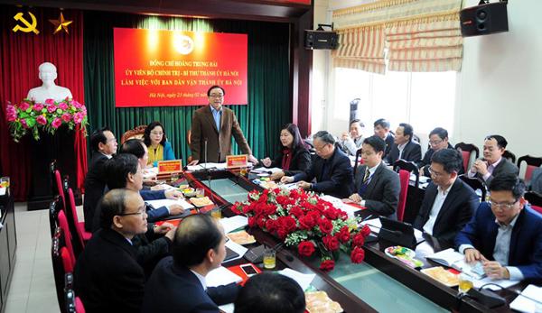 Bí thư Thành ủy Hà Nội Hoàng Trung Hải: Công tác dân vận phải nâng lên một tầm cao mới