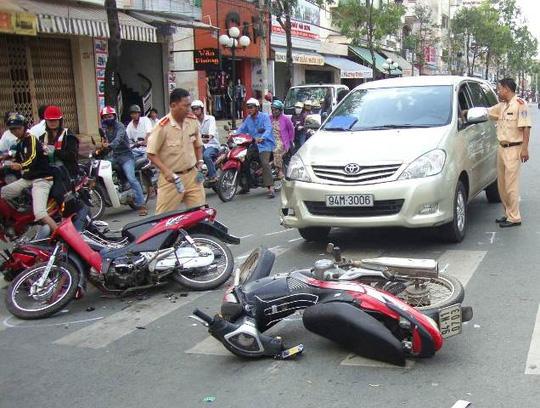 24 người tử vong vì tai nạn giao thông trong ngày mùng 4 Tết