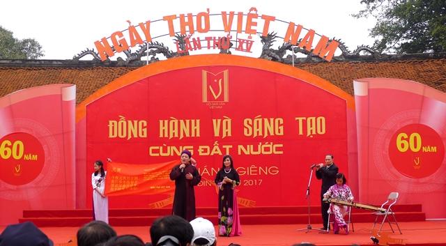 Ngày thơ Việt Nam lần thứ XVI có nhiều điểm mới