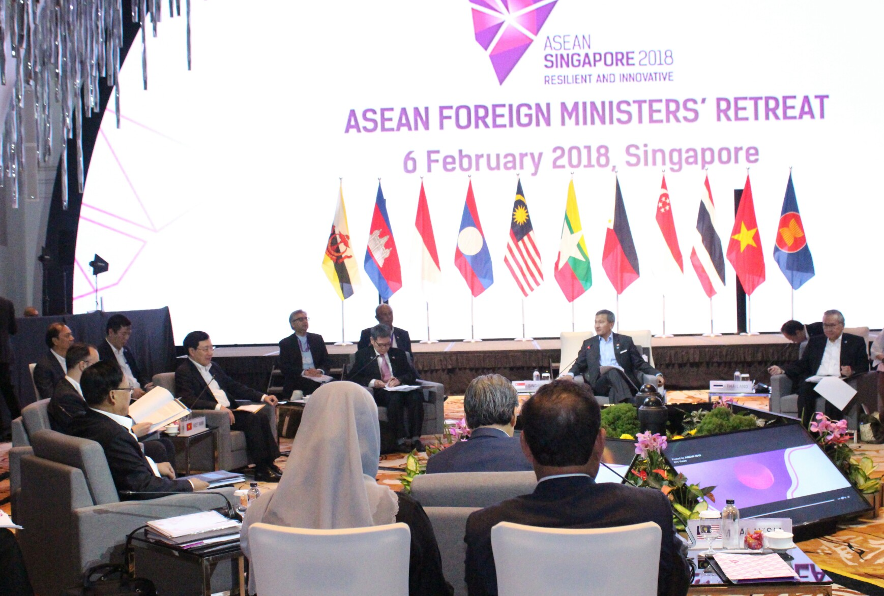 Việt Nam cam kết sẽ phối hợp chặt chẽ bảo đảm thành công của ASEAN 2018