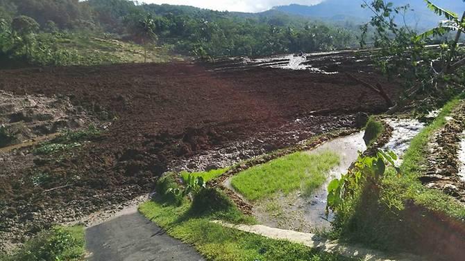 Indonesia: Lở đất làm 25 người bị thương và mất tích