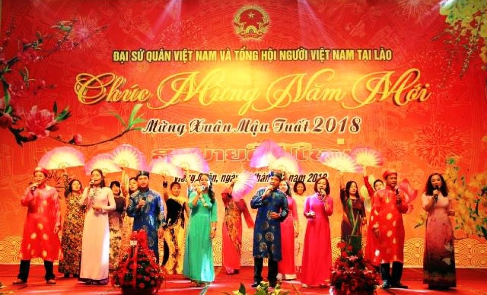 Cộng đồng người Việt tại các nước tưng bừng đón Xuân Mậu Tuất 2018