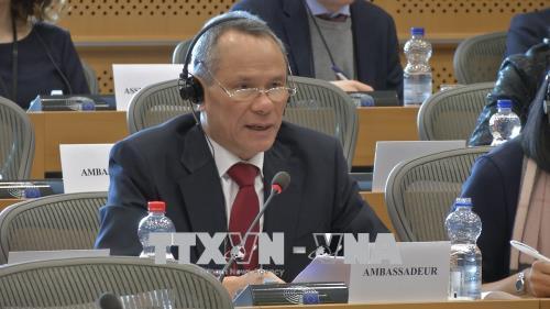 Nghị viện châu Âu thúc đẩy Hiệp định thương mại tự do với Việt Nam
