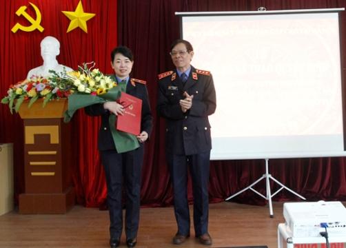 Trao Quyết định bổ nhiệm Phó Viện trưởng Viện Kiểm sát nhân dân cấp cao tại Hà Nội