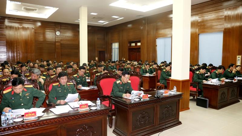 Quân khu 3 triển khai thực hiện Chỉ thị của Ban Thường vụ Quân uỷ Trung