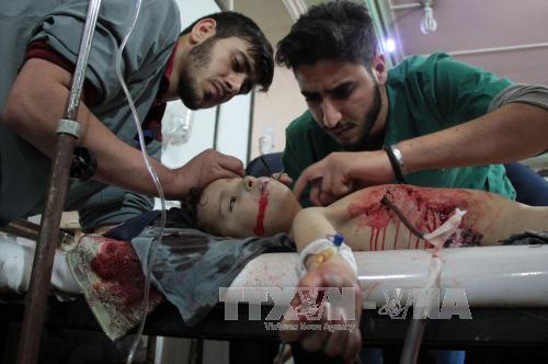 Liên hợp quốc kêu gọi ngừng bắn ngay lập tức tại Đông Ghouta