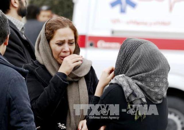 Thời tiết xấu cản trở công tác tìm kiếm máy bay Iran gặp nạn