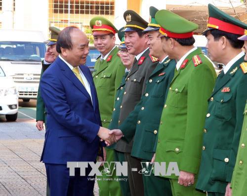 Thủ tướng Chính phủ Nguyễn Xuân Phúc xông đất, chúc Tết tại thành phố Đà Nẵng