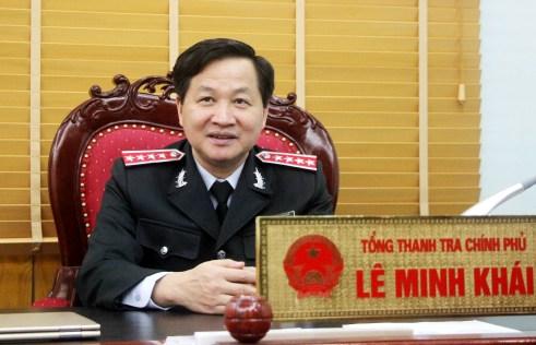 Tổng Thanh tra Lê Minh Khái: Ngành thanh tra phải sáng tạo, liêm chính