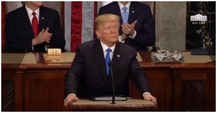 Một vài điểm nhấn trong Thông điệp liên bang 2018 của Tổng thống Mỹ
