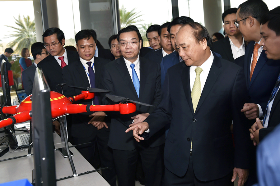Thủ tướng Nguyễn Xuân Phúc: Đẩy mạnh phát triển Khu công nghệ cao Hòa Lạc