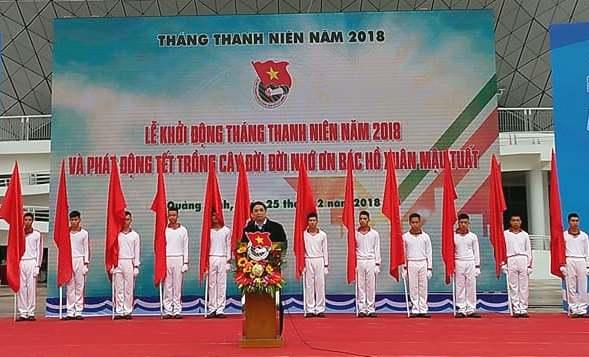 """Trung ương Đoàn khởi động Tháng Thanh niên 2018 và phát động Tết trồng cây """"Đời đời nhớ ơn Bác Hồ"""""""