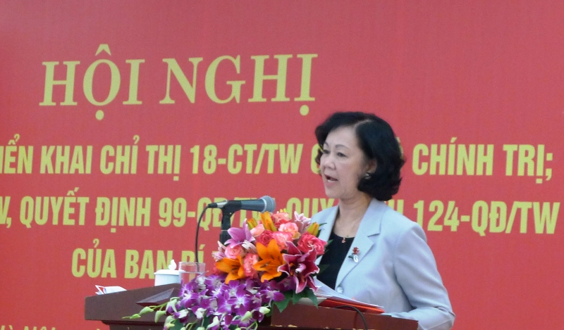 Ban Dân vận Trung ương quán triệt các văn bản mới của Bộ Chính trị