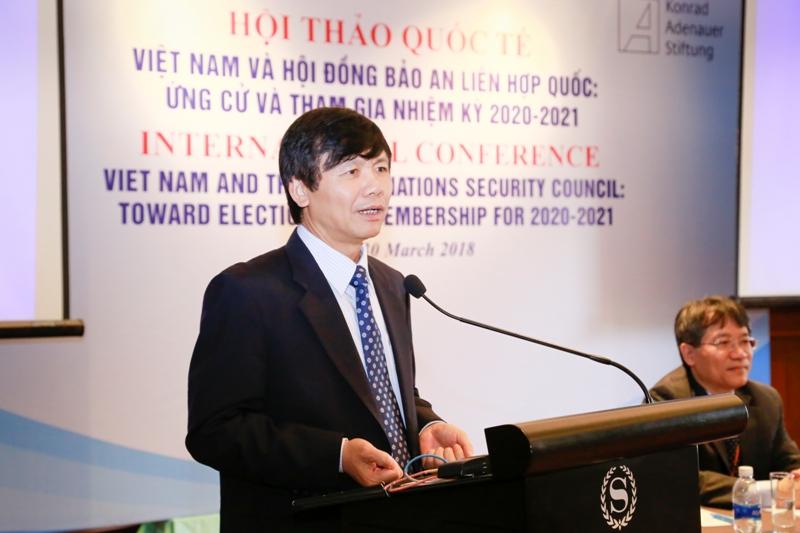 Việt Nam ứng cử vào vị trí Ủy viên không thường trực Hội đồng Bảo an Liên hợp quốc nhiệm kỳ 2020-2021