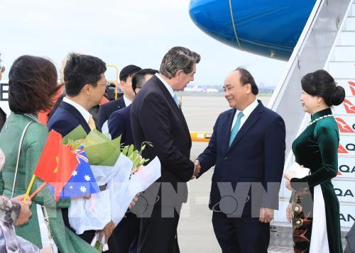 Thủ tướng Nguyễn Xuân Phúc đến thành phố Sydney, dự Hội nghị ASEAN – Australia