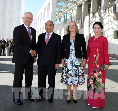 Báo chí Australia đưa tin đậm nét về chuyến thăm của Thủ tướng Nguyễn Xuân Phúc