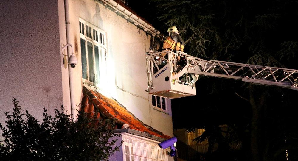 Đại sứ quán Thổ Nhĩ Kỳ ở Đan Mạch bị tấn công bằng bom xăng