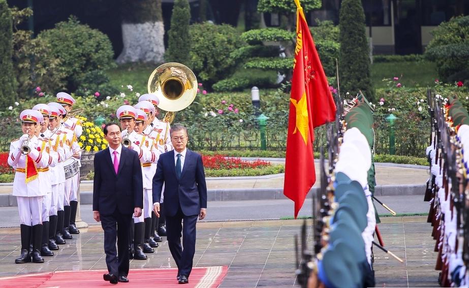 Quan hệ Việt Nam - Hàn Quốc phát triển nhanh chóng, toàn diện và hiệu quả