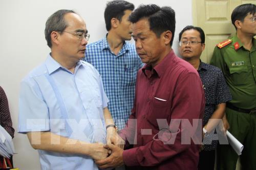 TP.Hồ Chí Minh: Miễn phí điều trị cho nạn nhân trong vụ cháy tại chung cư quận 8