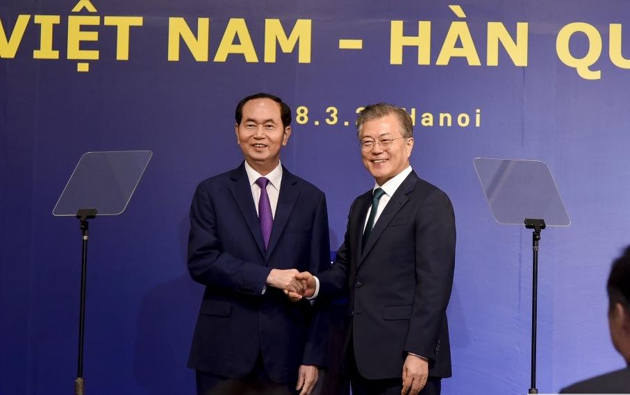 Việt Nam và Hàn Quốc là đối tác thương mại quan trọng của nhau
