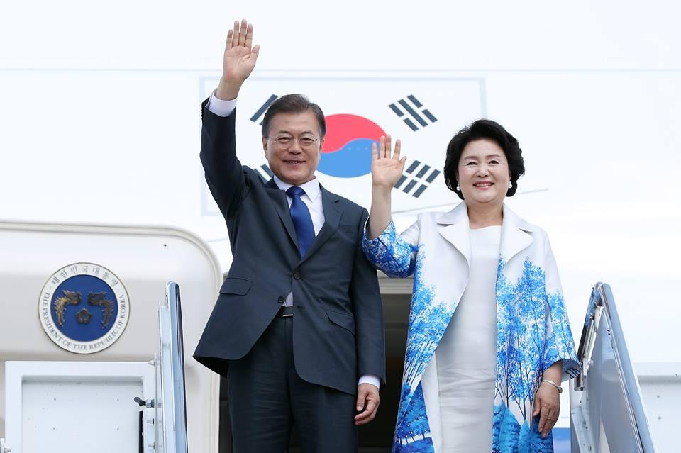 Tổng thống Hàn Quốc và Phu nhân thăm cấp Nhà nước tới Việt Nam