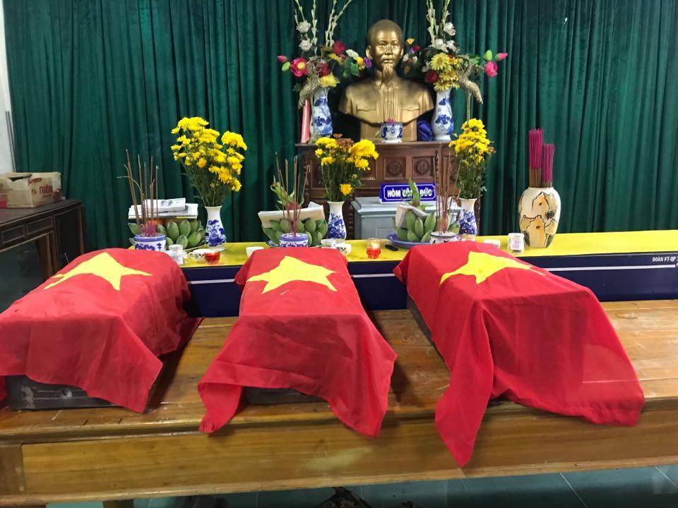 Quảng Trị: Phát hiện 5 hài cốt liệt sĩ kèm di vật khắc tên