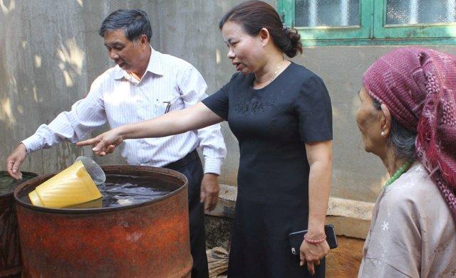 Đắk Lắk: Nước giếng của người dân nóng lên bất thường