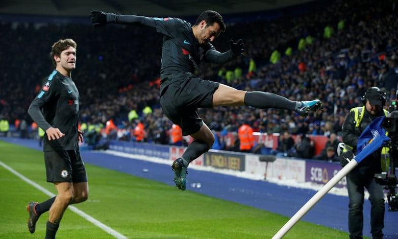 Pedro lập công, Chelsea đi tiếp tại FA Cup