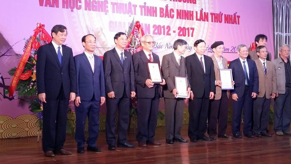 Bắc Ninh: Gặp mặt Văn nghệ sĩ trao và giải thưởng Văn học - Nghệ thuật