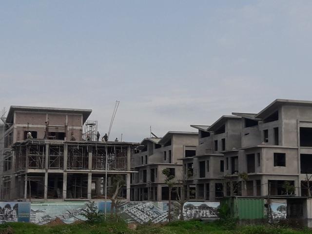 Dự án Khai Sơn Hill (Hà Nội): Ngang nhiên thi công 26 căn biệt thự không phép
