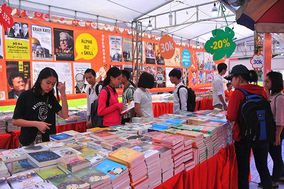 Hội sách mùa Xuân 2018 giới thiệu gần 40.000 ấn phẩm